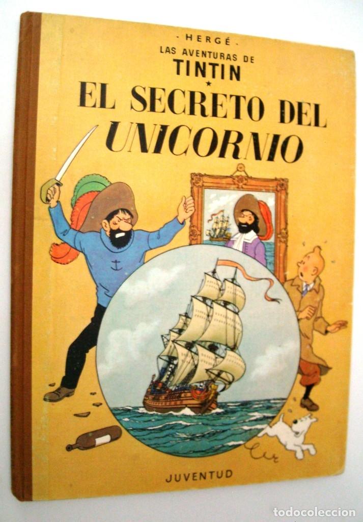 Cómics: TINTIN - EL SECRETO DEL UNICORNIO - 1968 - Foto 8 - 172774888