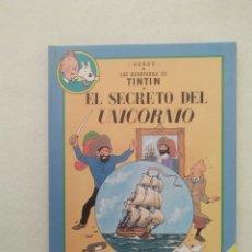 Cómics: TINTIN ALBUM DOBLE EL SECREO DEL UNICORNIO EL TESORO DE RACKHAM EL ROJO. Lote 173036658
