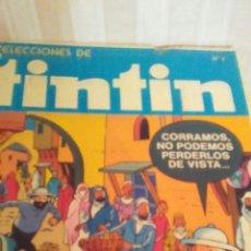 Cómics: TOMO NUMERO 1 SELECIONES DE TINTIN SÑO 1981. Lote 173099110