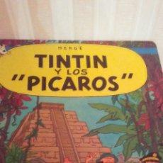 Cómics: EJEMPLAR DE TINTIN ,AÑOS 80 ,TAPA DURA. Lote 173099332