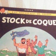 Cómics: EJEMPLAR DE TINTIN ,AÑOS 80,TAPA DURA. Lote 173099427