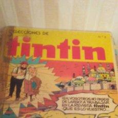 Cómics: TOMO NUMERO 2 DE SELECCIONES DE TINTIN AÑOS 80,TAPA DURA. Lote 173099692