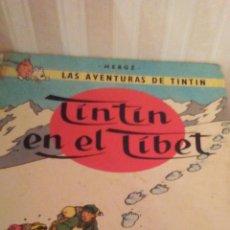 Cómics: EJEMPLAR DE TINTIN ,AÑOS 80,TAPA DURA. Lote 173099728