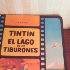 Cómics: EJEMPLAR DE TINTIN ,AÑOS 80,TAPA DURA. Lote 173099823