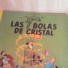 Cómics: EJEMPLAR DE TINTIN ,AÑOS 80 ,TAPA DURA. Lote 173099858