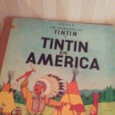 Cómics: EJEMPLAR DE TINTIN AÑOS 60 ,TAPA DURA. Lote 173099904