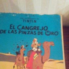 Cómics: EJEMPLAR DE TINTIN,AÑOS 80,TAPA SEMIDURA. Lote 173099935