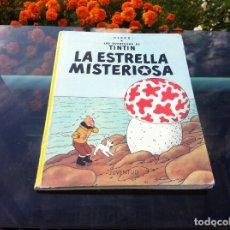 Cómics: HERGÉ. LAS AVENTURAS DE TINTIN. LA ESTRELLA MISTERIOSA. ED. JUVENTUD, 1985. TAPA DURA. Lote 173191659