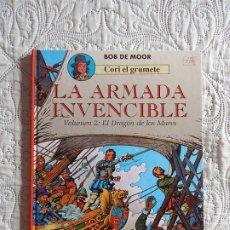 Cómics: CORI EL GRUMETE - LA ARMADA INVENCIBLE - VOLUMEN -2 EL DRAGON DE LOS MARES. Lote 173367169