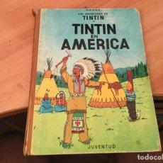 Cómics: TINTIN EN AMERICA TAPA DURA SEGUNDA EDICION 1969 (COIB20). Lote 173389208