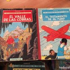 Cómics: LAS AVENTURAS DE JO, ZETTE Y JOCKO HERGE EL TESTAMENTO DE MR PUMP, VALLE COBRAS 1ª EDICION (COIB21. Lote 173393099