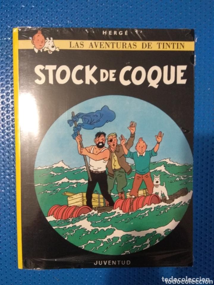 CÓMIC LAS AVENTURAS DE TINTIN STOCK DE COQUE, HERGE, EDITORIAL JUVENTUD, PRECINTADO (Tebeos y Comics - Juventud - Tintín)