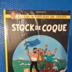Fumetti: CÓMIC LAS AVENTURAS DE TINTIN STOCK DE COQUE, HERGE, EDITORIAL JUVENTUD, PRECINTADO. Lote 173448470