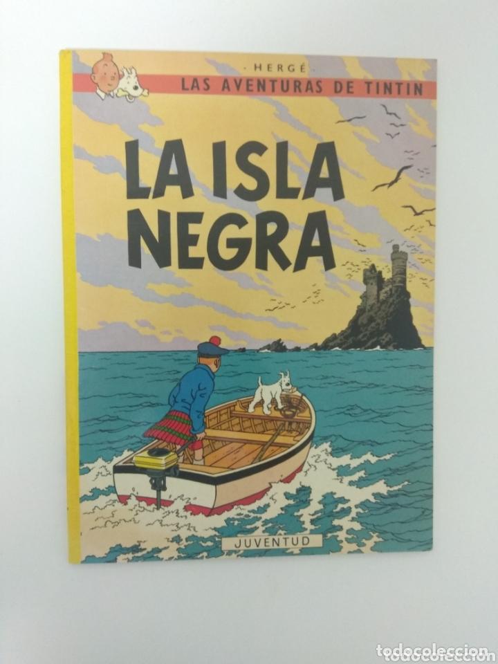 ~ CÓMIC LAS AVENTURAS DE TINTIN, LA ISLA NEGRA, HERGE, EDITORIAL JUVENTUD ~ (Tebeos y Comics - Juventud - Tintín)