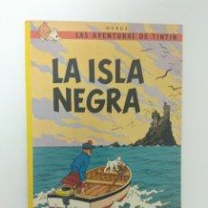 Cómics: CÓMIC LAS AVENTURAS DE TINTIN, LA ISLA NEGRA, HERGE, EDITORIAL JUVENTUD. Lote 173449178