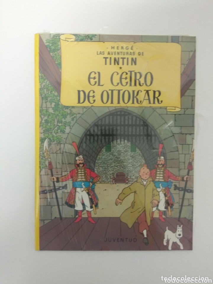 CÓMIC LAS AVENTURAS DE TINTIN, EL CETRO DE OTTOKAR , HERGE, EDITORIAL JUVENTUD, PRECINTADO (Tebeos y Comics - Juventud - Tintín)