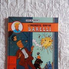 Cómics: L´ENIGMATIC SENYOR BARELLI - N. 1 - CATALA. Lote 173508060