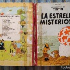 Cómics: LAS AVENTURAS DE TINTIN LA ESTRELLA MISTERIOSA (SEGUNDA EDICION) - HERGE (JUVENTUD 1964). Lote 173602008