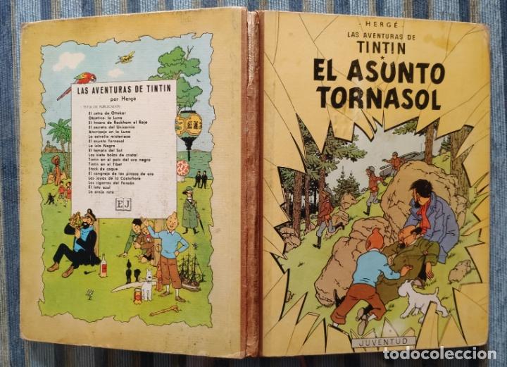 LAS AVENTURAS DE TINTIN EL ASUNTO TORNASOL (TERCERA EDICION) - HERGE (JUVENTUD 1968) (Tebeos y Comics - Juventud - Tintín)