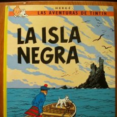 Cómics: TINTIN - LA ISLA NEGRA (TAPA DURA). Lote 254634135