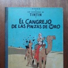 Cómics: EL CANGREJO DE LA PINZAS DE ORO, LAS AVENTURAS DE TINTIN, EDITORIAL JUVENTUD, TERCERA EDICION, 1968. Lote 174176835