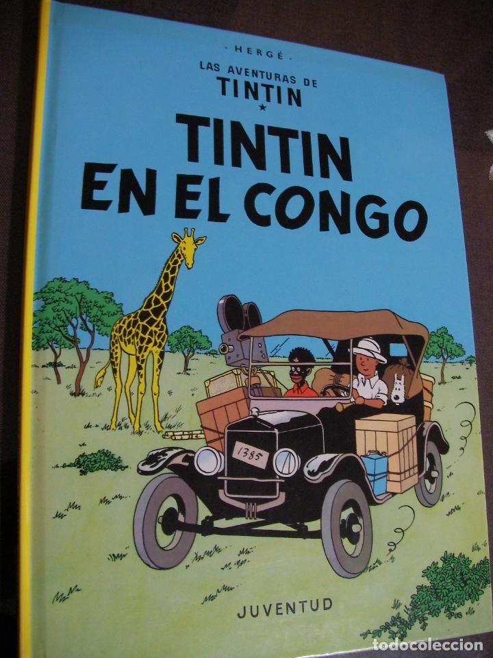 LAS AVENTURAS DE TINTIN - TINTIN EN EL CONGO (Tebeos y Comics - Juventud - Tintín)