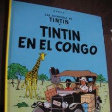 Cómics: LAS AVENTURAS DE TINTIN - TINTIN EN EL CONGO. Lote 174264909