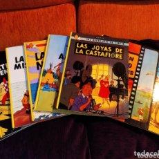 Cómics: LOTE DE OCHO CÓMICS DE TINTÍN, EDITORIAL JUVENTUD, VER. Lote 174270375