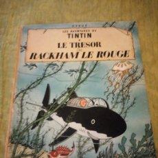 Cómics: TINTIN LE TRESOR DE RACKHAM LE ROUGE 1947. Lote 174470665