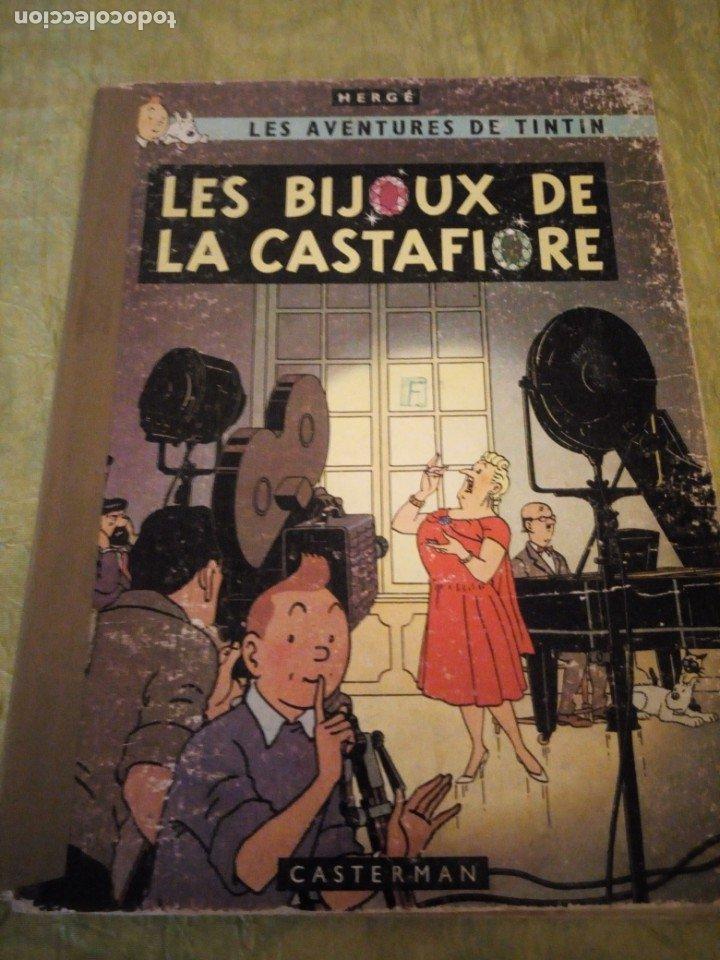 LES AVENTURES DE TINTIN. CASTERMAN. 1963. LES BIJOUX DE LA CASTAFIORE (Tebeos y Comics - Juventud - Tintín)