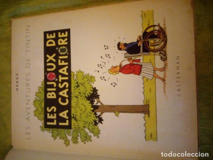 Cómics: LES AVENTURES DE TINTIN. CASTERMAN. 1963. LES BIJOUX DE LA CASTAFIORE - Foto 4 - 174470817
