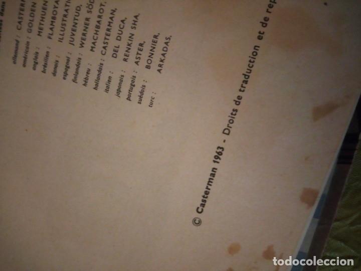Cómics: LES AVENTURES DE TINTIN. CASTERMAN. 1963. LES BIJOUX DE LA CASTAFIORE - Foto 5 - 174470817