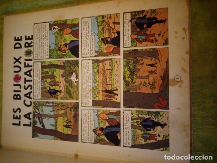 Cómics: LES AVENTURES DE TINTIN. CASTERMAN. 1963. LES BIJOUX DE LA CASTAFIORE - Foto 6 - 174470817