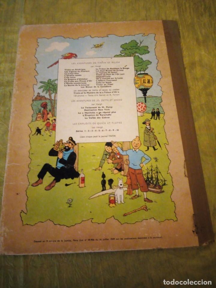Cómics: LES AVENTURES DE TINTIN. CASTERMAN. 1963. LES BIJOUX DE LA CASTAFIORE - Foto 10 - 174470817