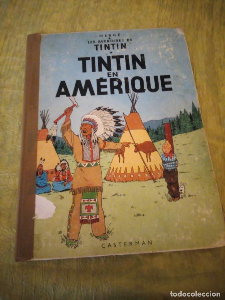 TINTIN EN AMERIQUE 1947 HERGE CASTERMAN. (Tebeos y Comics - Juventud - Tintín)