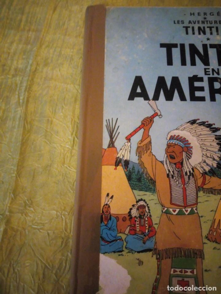 Cómics: tintin en amerique 1947 herge casterman. - Foto 2 - 174470997