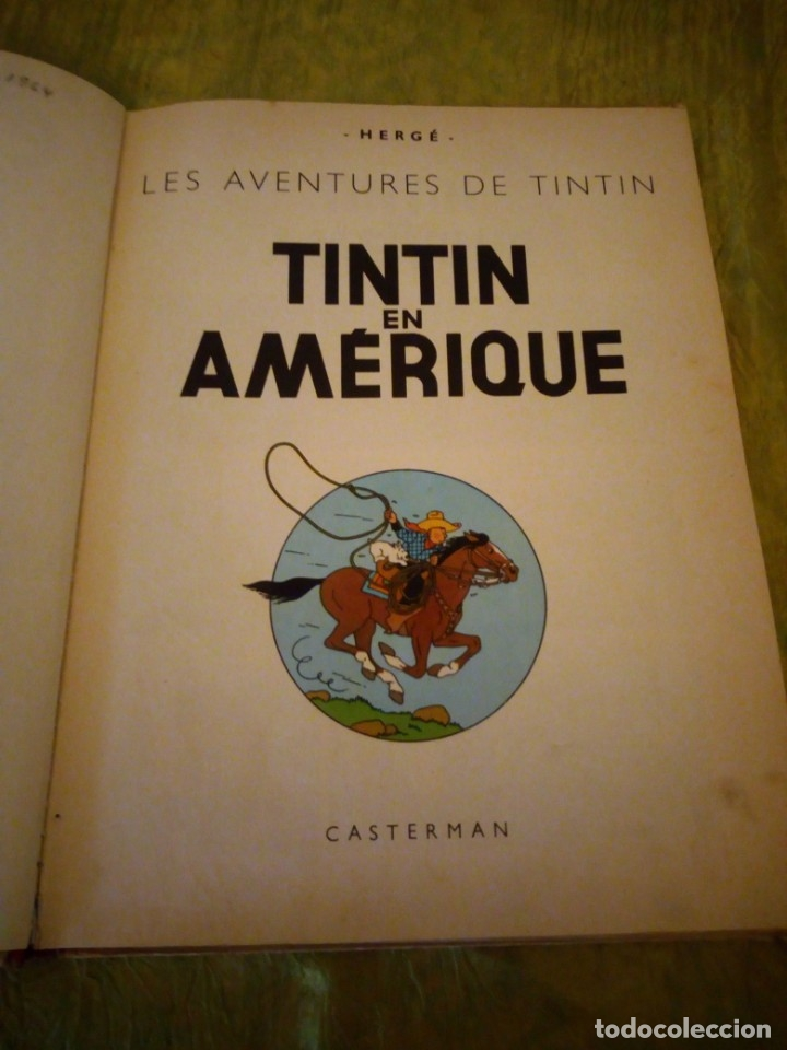 Cómics: tintin en amerique 1947 herge casterman. - Foto 5 - 174470997