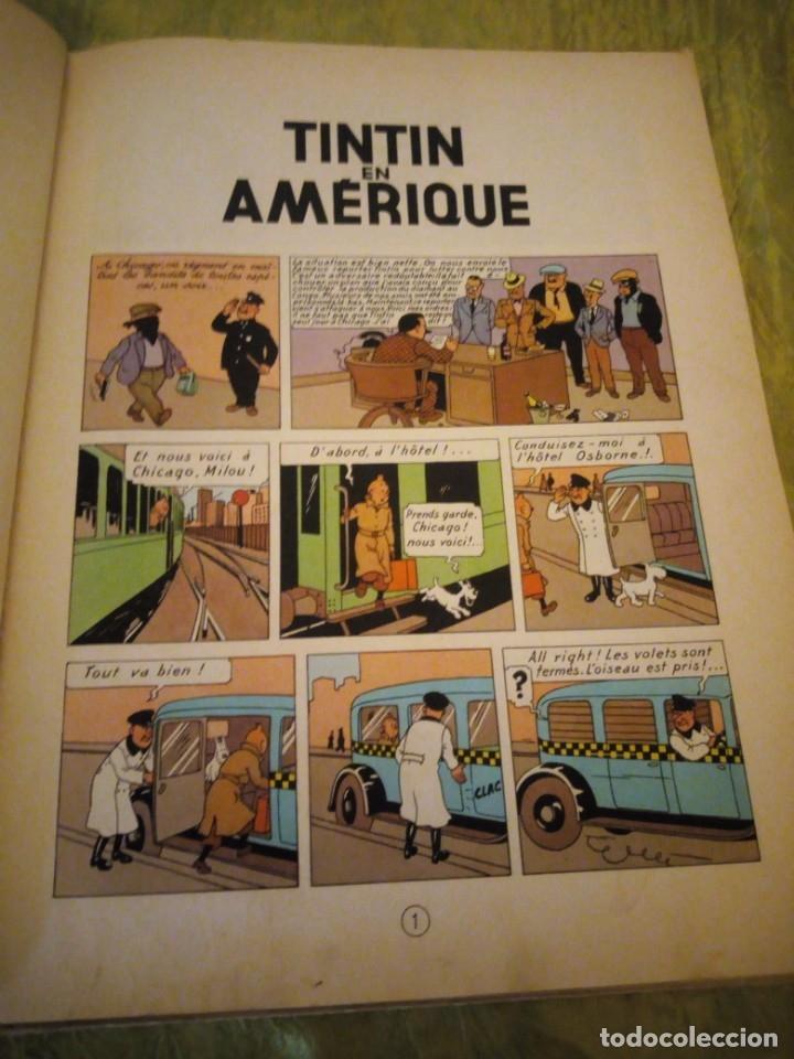 Cómics: tintin en amerique 1947 herge casterman. - Foto 7 - 174470997