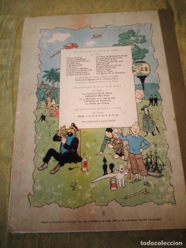 Cómics: tintin en amerique 1947 herge casterman. - Foto 12 - 174470997