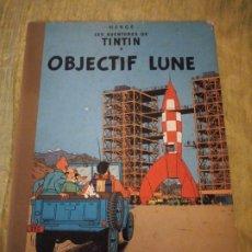 Cómics: TINTIN OBJECTIF LUNE CASTERDAM 1953. FRANCÉS. Lote 174471664