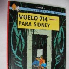 Cómics: AVENTURAS DE TINTIN - VUELO 714 PARA SIDNEY. Lote 174516998