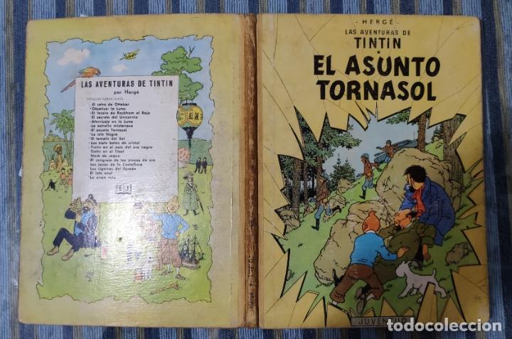 LAS AVENTURAS DE TINTIN EL ASUNTO TORNASOL (SEGUNDA EDICION) - HERGE (JUVENTUD 1965) (Tebeos y Comics - Juventud - Tintín)
