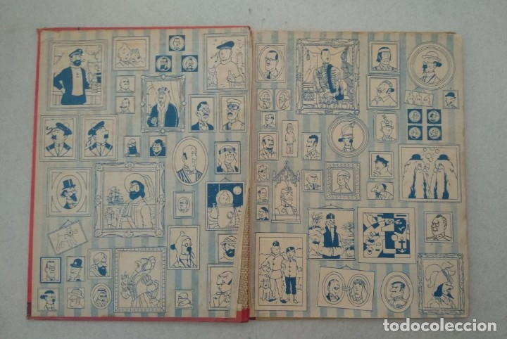 Cómics: LAS AVENTURAS DE TINTIN - EL LOTO AZUL - PRIMERA EDICIÓN 1965 - EDITORIAL JUVENTUD - VER FOTOS - Foto 2 - 175348769