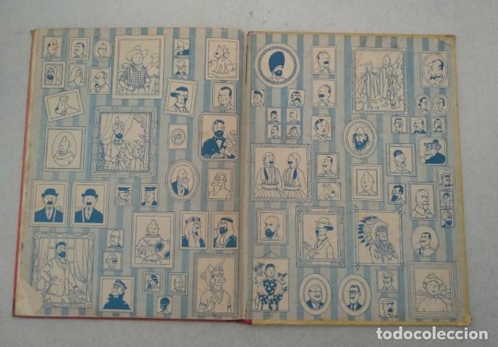 Cómics: LAS AVENTURAS DE TINTIN - EL LOTO AZUL - PRIMERA EDICIÓN 1965 - EDITORIAL JUVENTUD - VER FOTOS - Foto 8 - 175348769