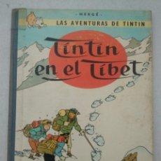 Cómics: LAS AVENTURAS DE TINTIN - TINTIN EN EL TIBET - TERCERA EDICIÓN 1967 - EDITORIAL JUVENTUD - VER FOTOS. Lote 175349695