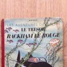 Cómics: TINTÍN - LE TRESOR DE RACKHAM LE ROUGE B4. AÑO 1950. Lote 175350700