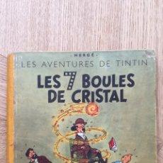Cómics: TINTIN - LES 7 BOULES DE CRISTAL. B2 DEL AÑO 1948. Lote 175351082