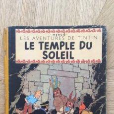 Cómics: TINTÍN B3 - TEMPLE DU SOLEIL. AÑO 1949. Lote 175351369