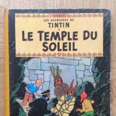 Cómics: TINTIN - LE TEMPLE DU SOLEIL. B20 BIS 1957. Lote 175352110