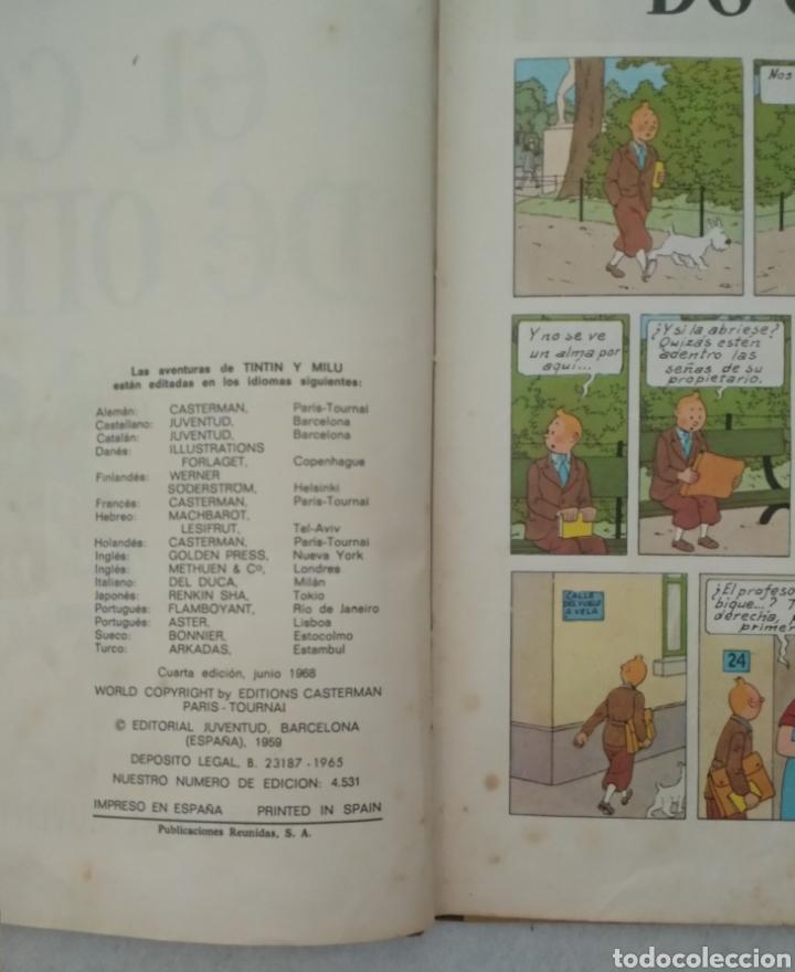 Cómics: Las aventuras de Tintín - el cetro de ottokar - cuarta edición 1968 - ed.juventud - ver fotos - Foto 2 - 175433962